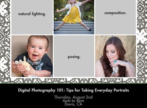 Intro to Photography Class, Davis, CA