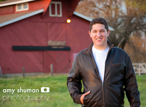 Spenser Senior Portraits