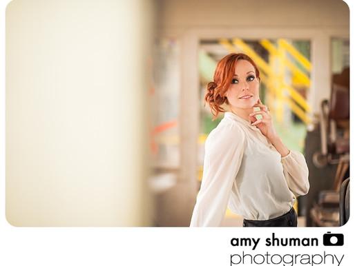 Industrial Glamour – Sacramento Portrait Photographer