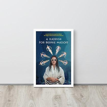 Framed 12x18 poster