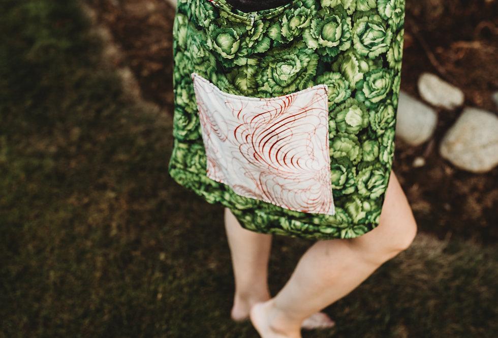 Vegetable Print Market Bag