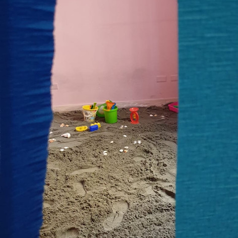 The day the Playgroup turned into a beach club!