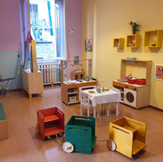 Our pretend play room