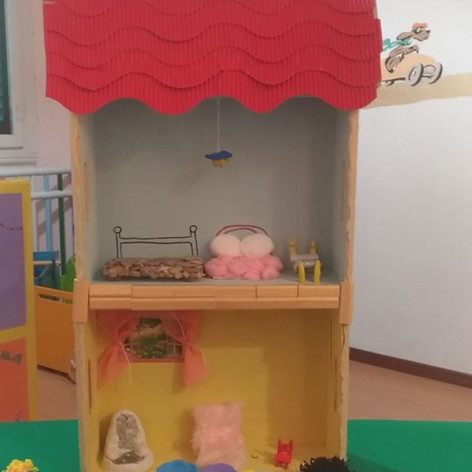 The three bears' house