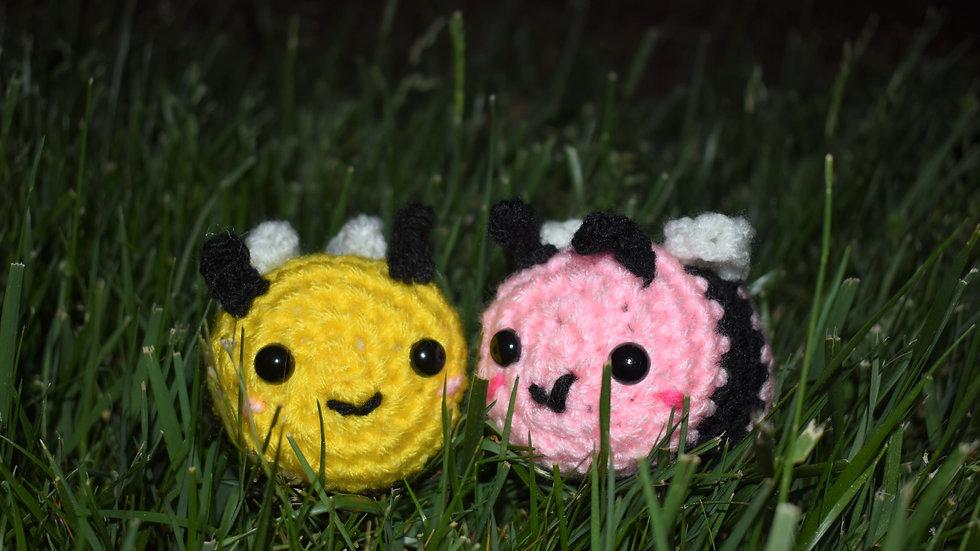 Bekah's Yarn Critters - Baby Bee