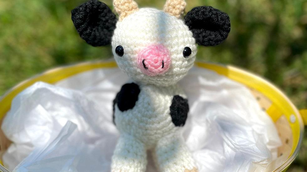 Bekah's Yarn Critters - Cow
