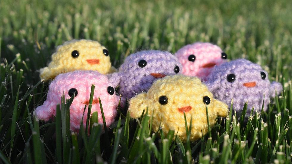 Bekah's Yarn Critters - Chick