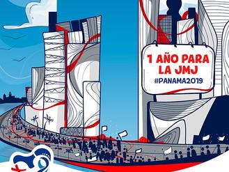 1 año para la JMJ Panamá. ¡Queremos acompañarte!