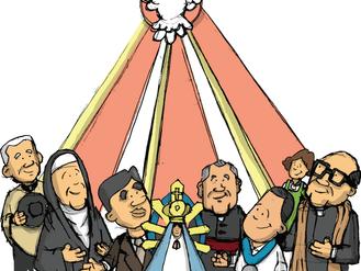 Material Vigilia de Pentecostés y Misa de Envío