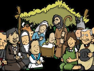 Material Preparatorio de adviento y navidad