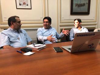 Visita del Secretario Ejecutivo de la JMJ Panamá 2019
