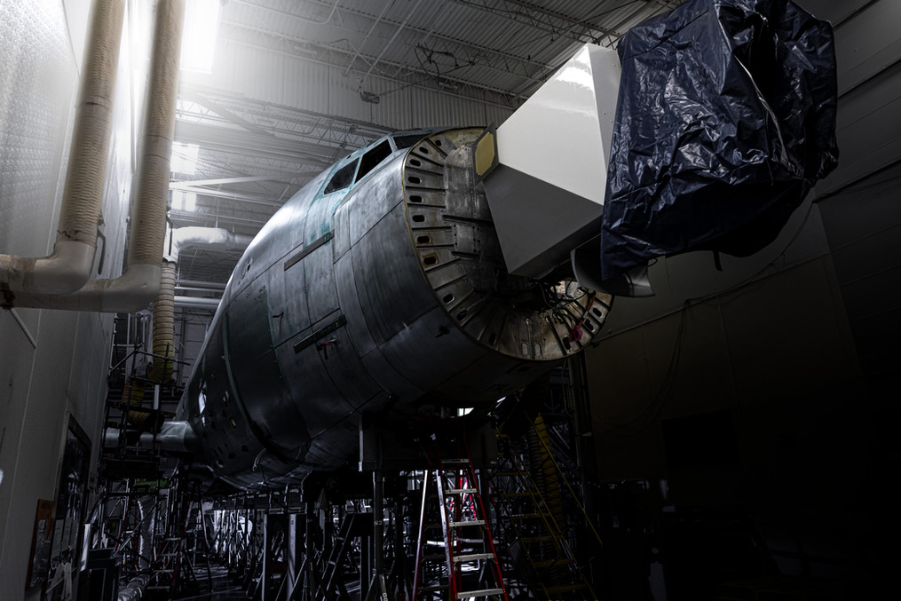 RC-135 mid point of overhall process
