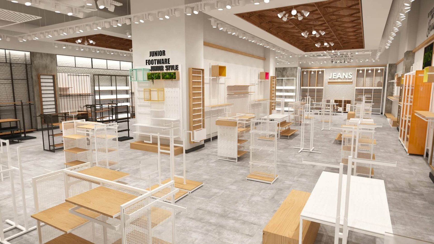 Outfitters - Fashion Store Shop Design