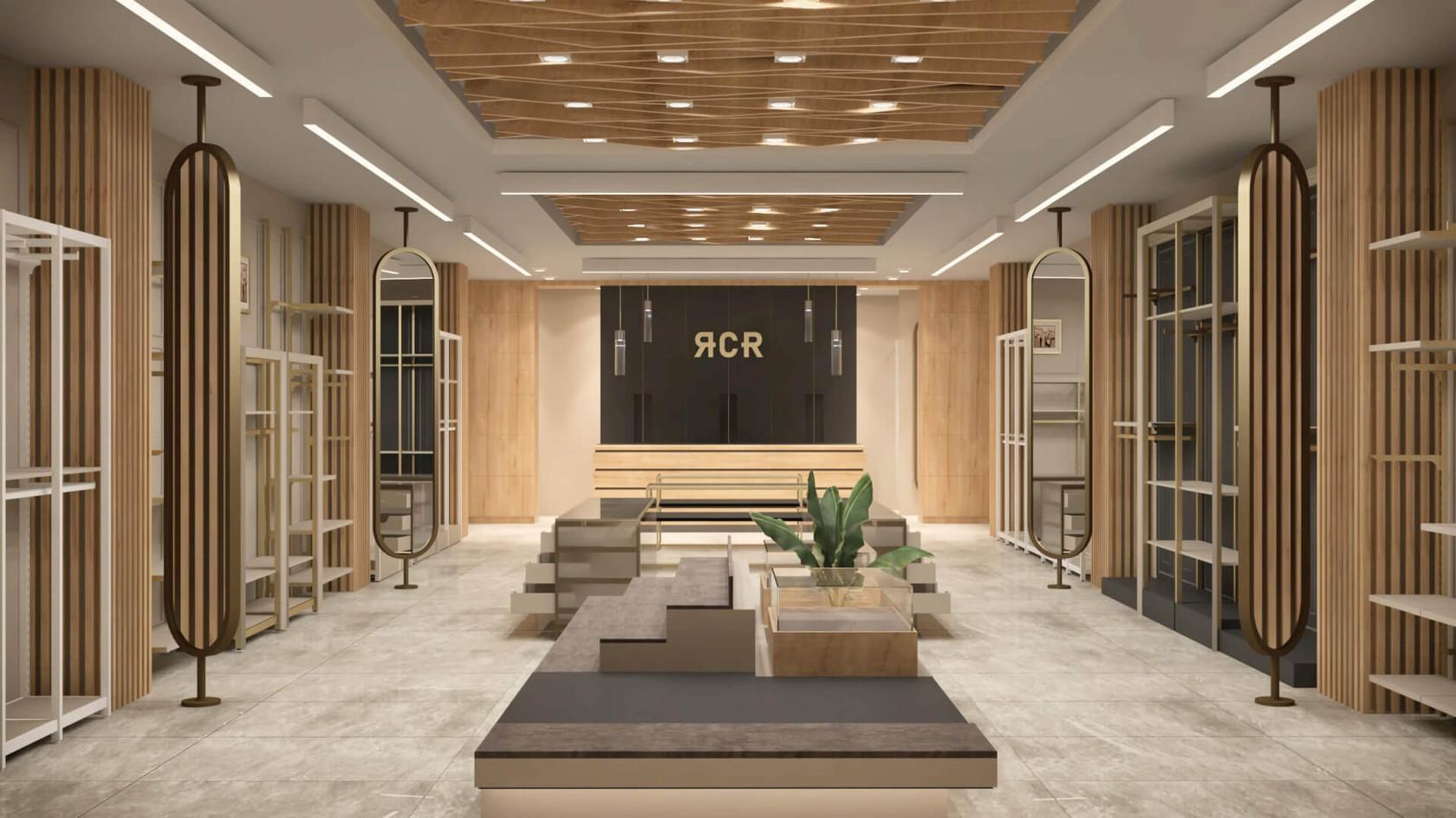 RCR - Fashion Store Shop Design
