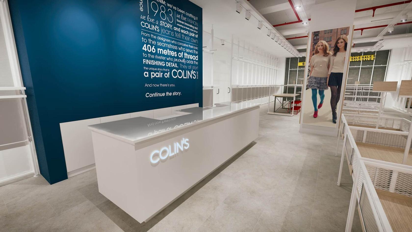 Denim Mağazası Tasarımları | Shopline Mağaza Dekorasyonu | Colin's