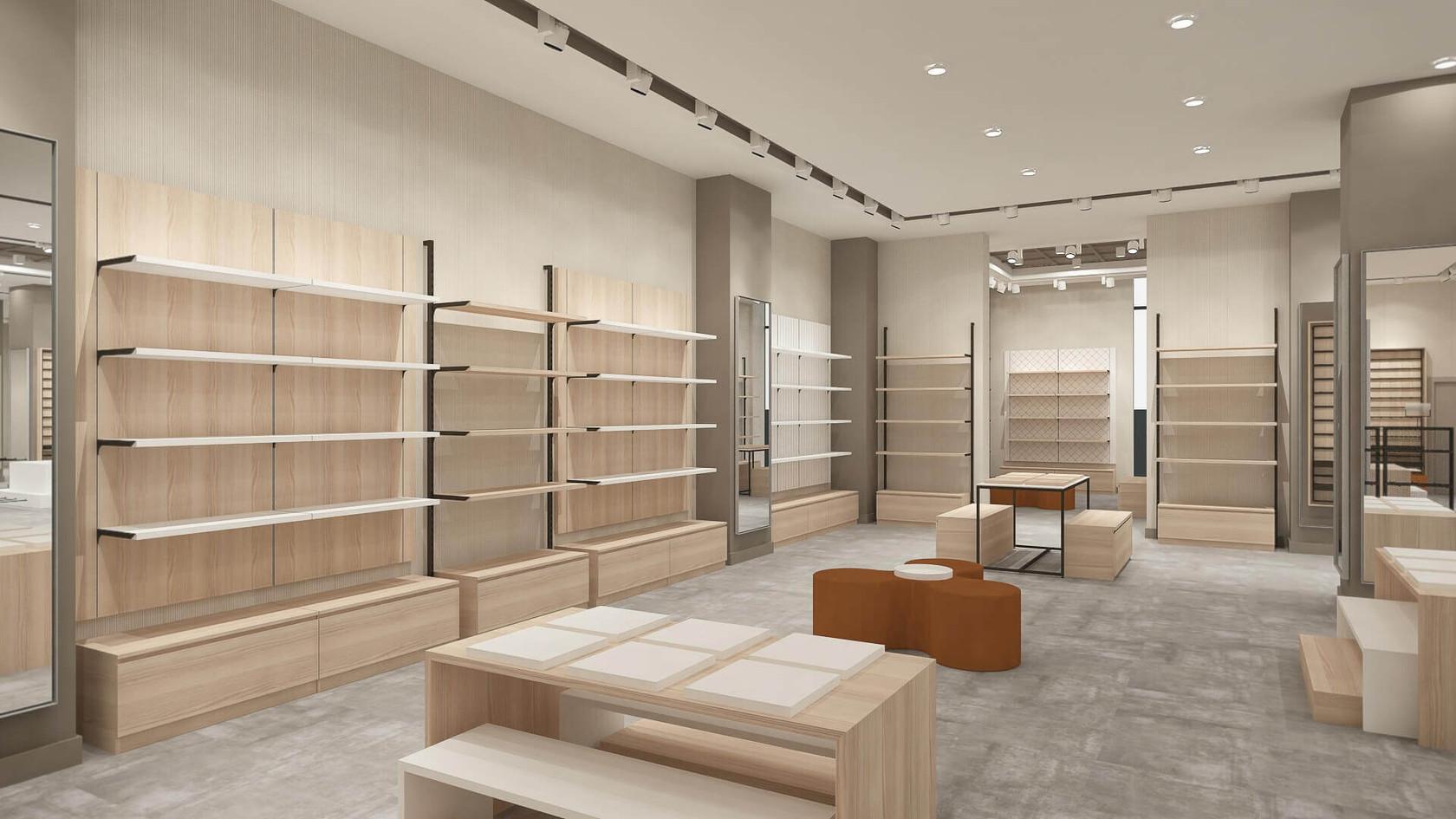 Ayakkabı ve Çanta Mağazası Tasarımları | Shopline Mağaza Dekorasyonu | Çinici