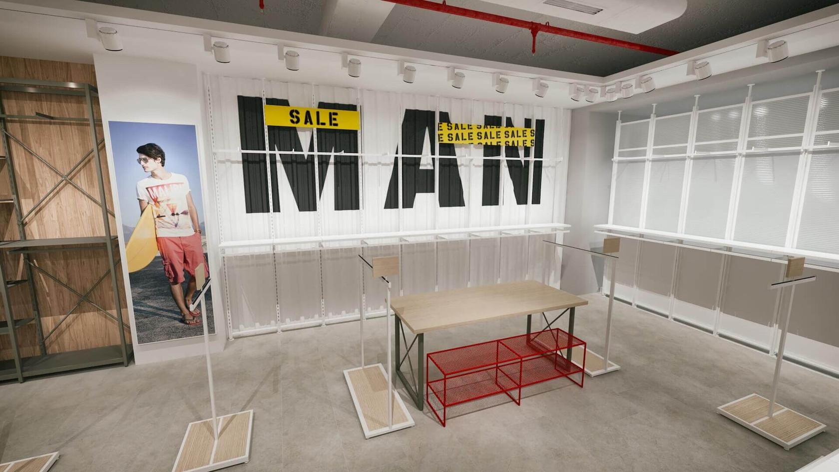Colins - Denim Store Shop Design