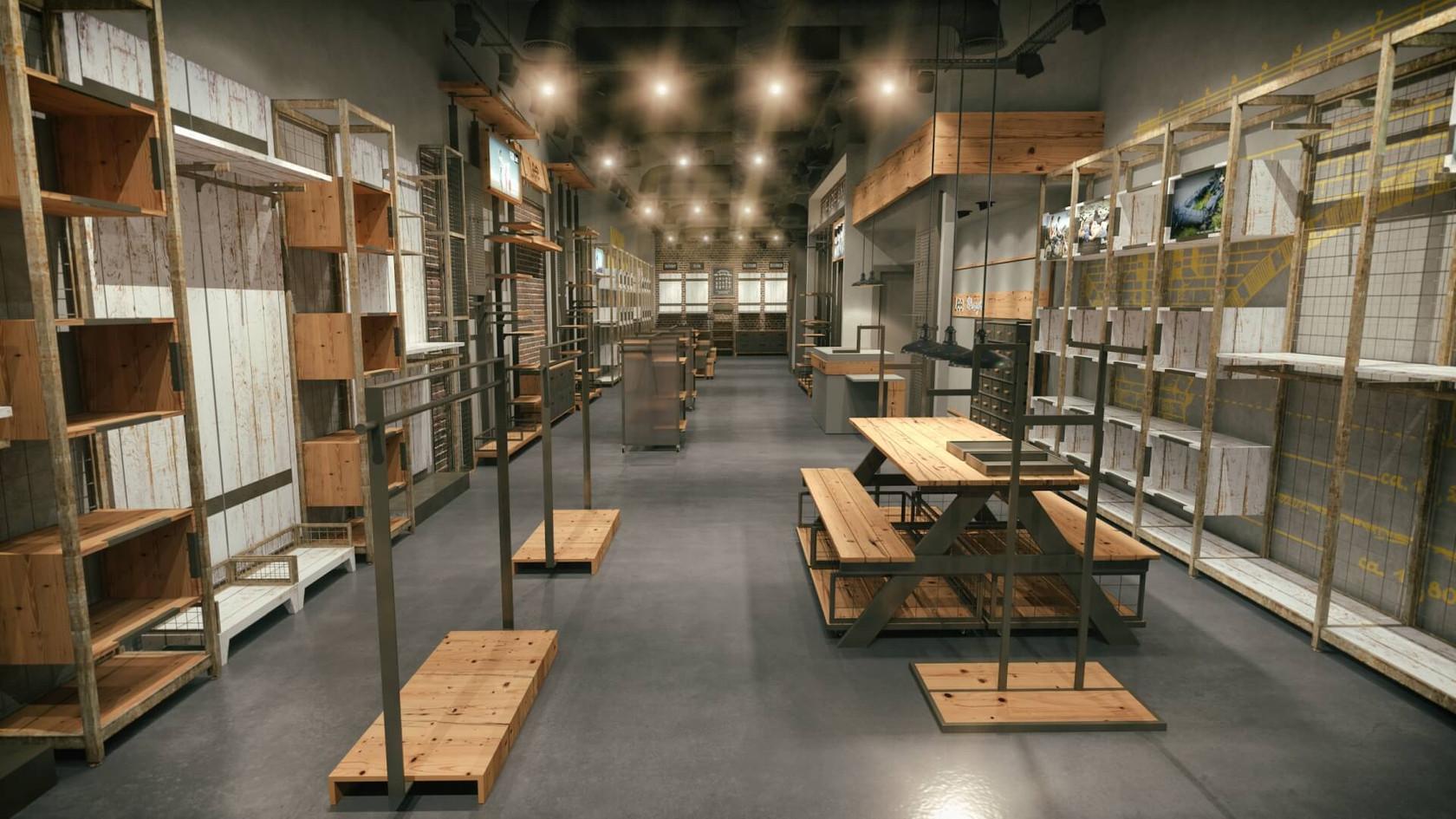 Denim Mağazası Tasarımları | Shopline Mağaza Dekorasyonu | Lee & Wrangler