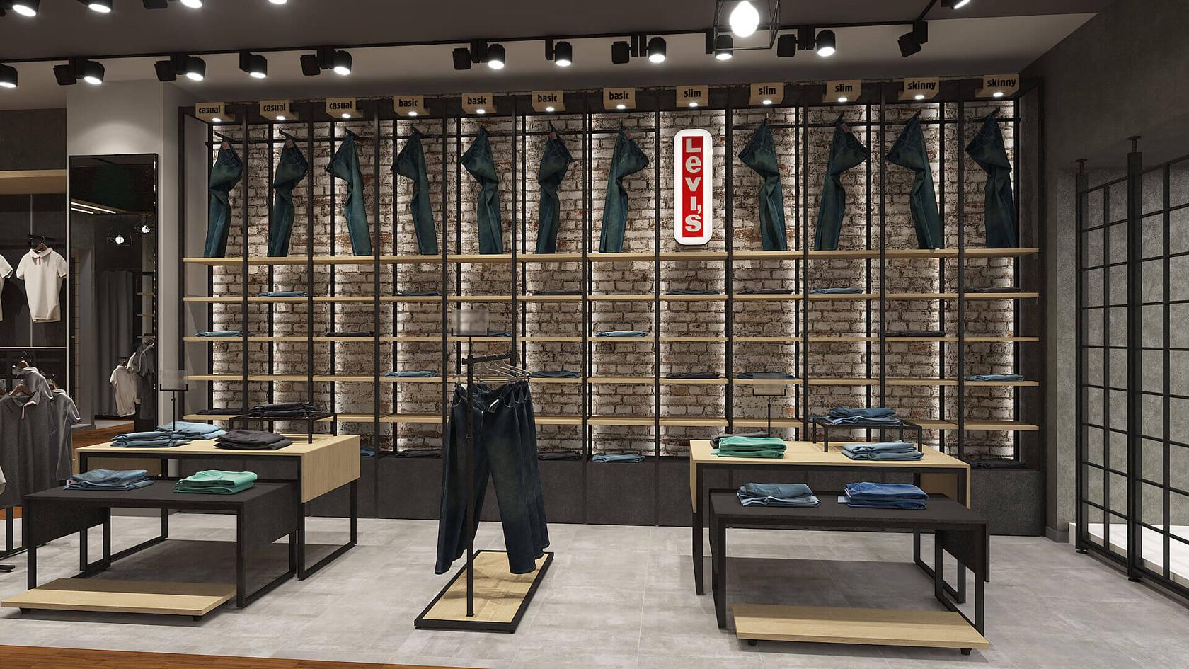 Dequell - Denim Store Shop Design