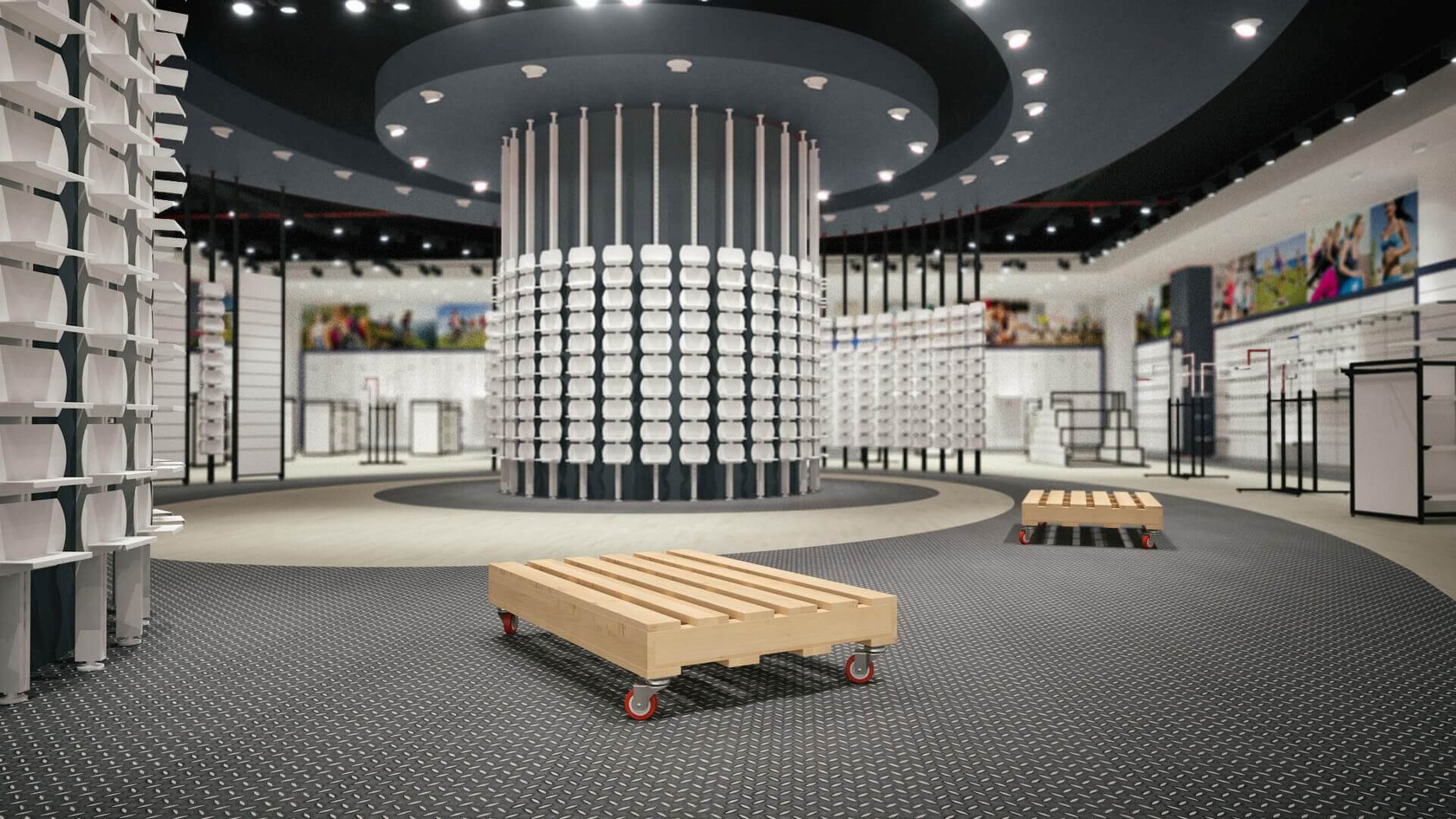 Olympe - Sports Store Shop Design
