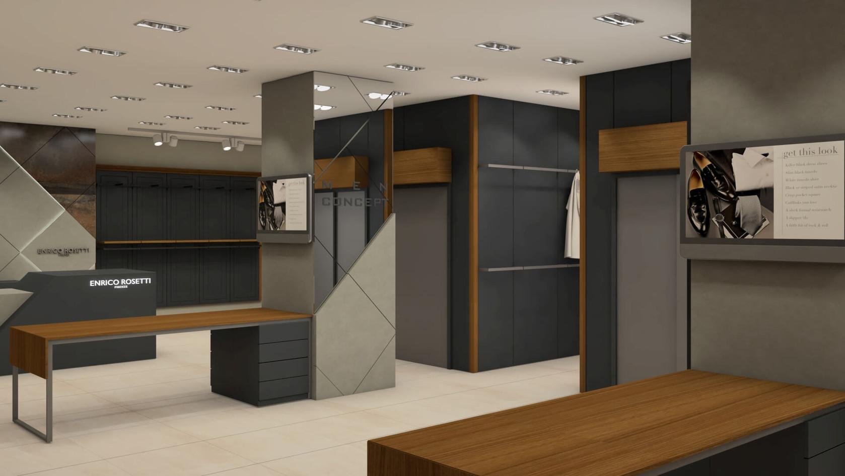 Enrico Rosetti - Fashion Store Shop Design