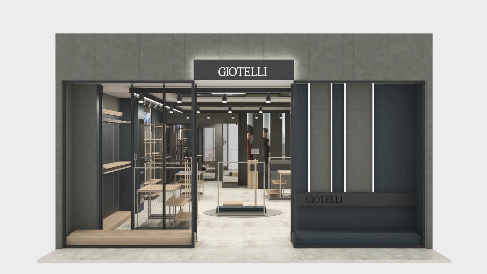 Giotelli - Fashion Store Shop Design