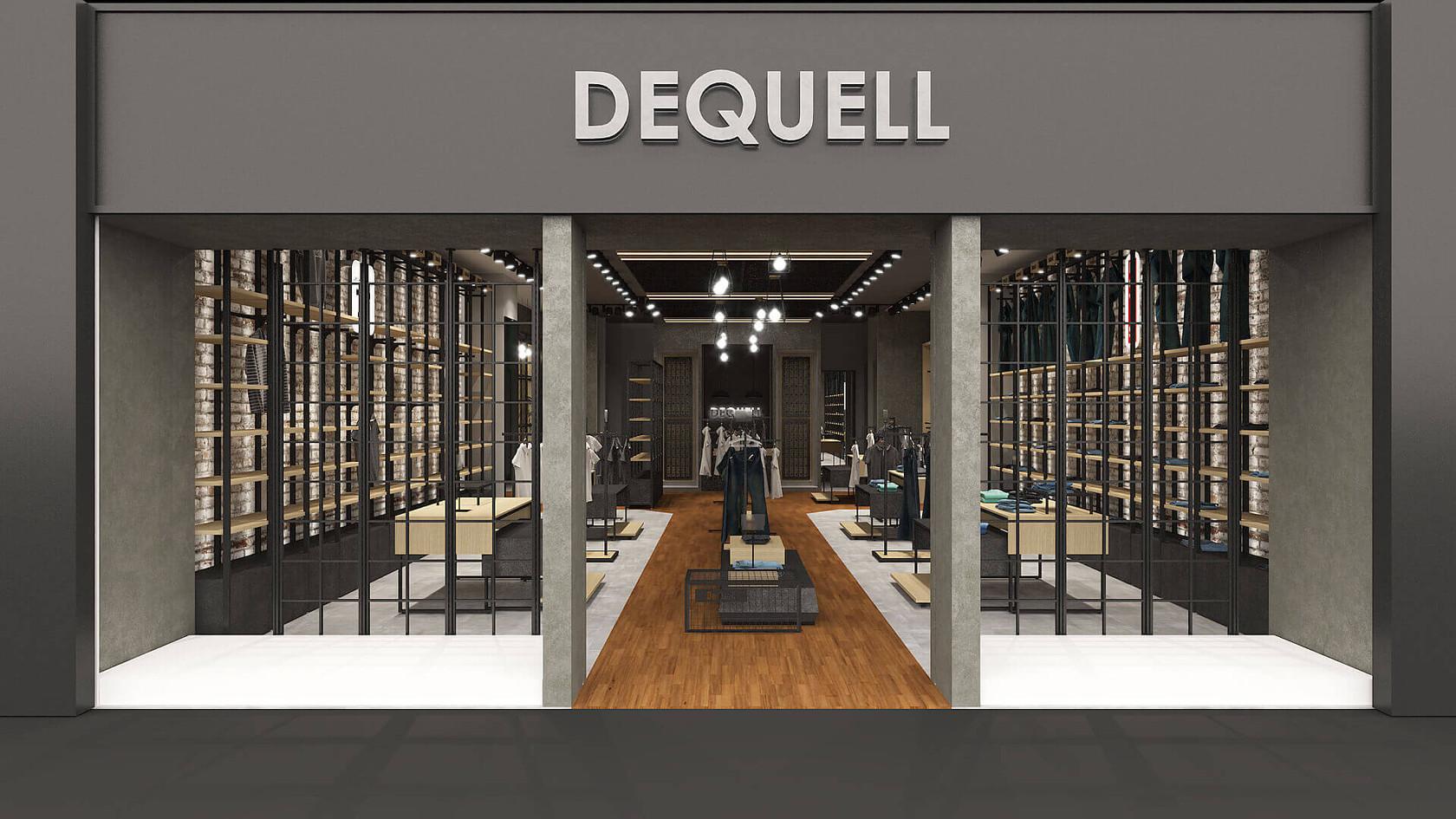 Denim Mağazası Tasarımları | Shopline Mağaza Dekorasyonu | Dequell