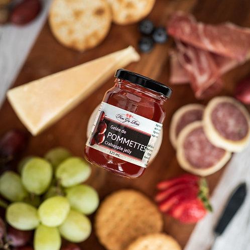 Gelée de pommettes - Crabapple jelly 125ml