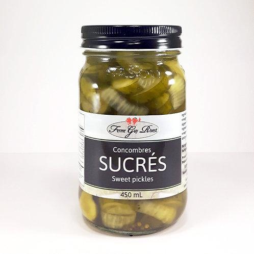 Cornichons sucrés - Sweet pickles