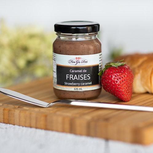 Caramel de fraises - Strawberry caramel