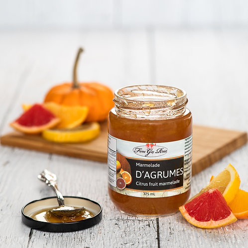Marmelade d'agrumes - Citrus fruit marmelade 375ml