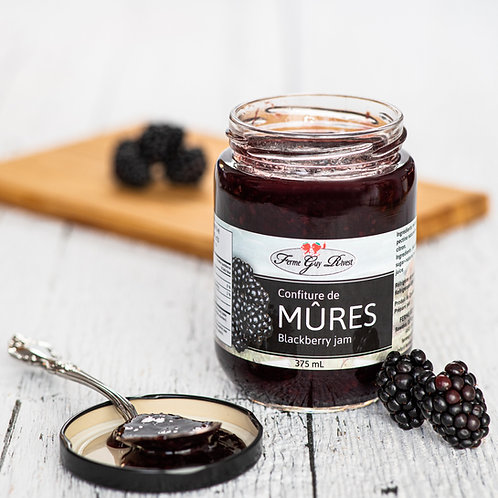 Confiture de mûres - Blackberry jam 375ml