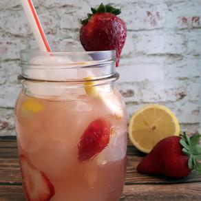 Limonade aux fraises (ou framboises... ou bleuets sauvages)