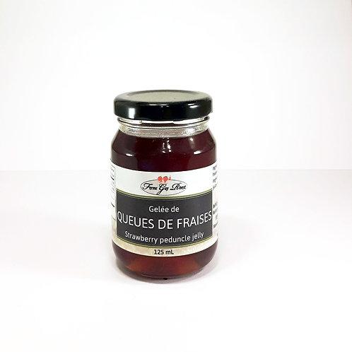 Gelée de queues de fraises - Strawberry peduncle jelly