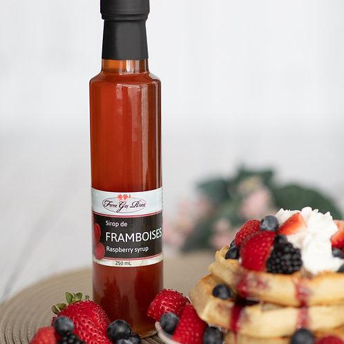 Sirop de framboises - Raspberry syrup