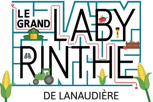 Entrée familiale - Grand Labyrinthe