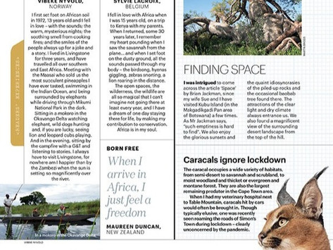 Travel Africa Magazine: River of Dreams