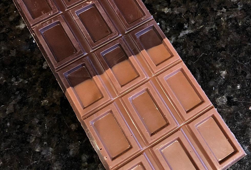 Half & Half Chocolate Bar
