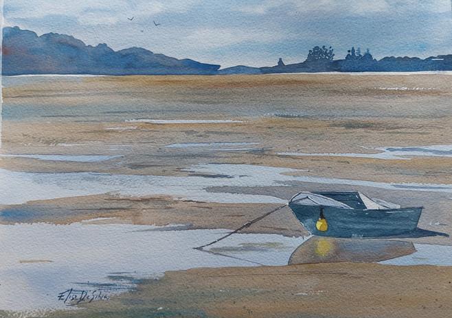 Point Wells Low Tide