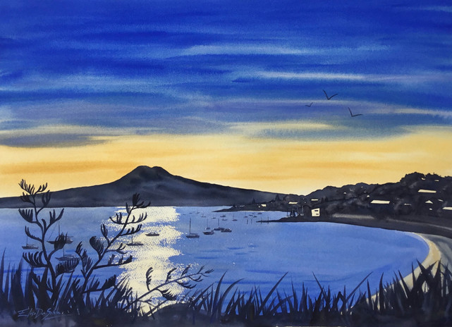 'View of Bucklands Beach' - commission