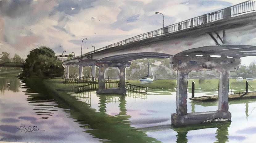 Panmure Bridge, 2019