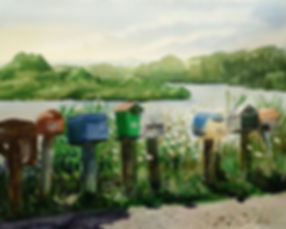 Rural Letterboxes, Raglan, Elise De Silva