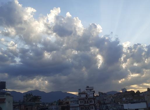 Sunny August Afternoon in Kathmandu