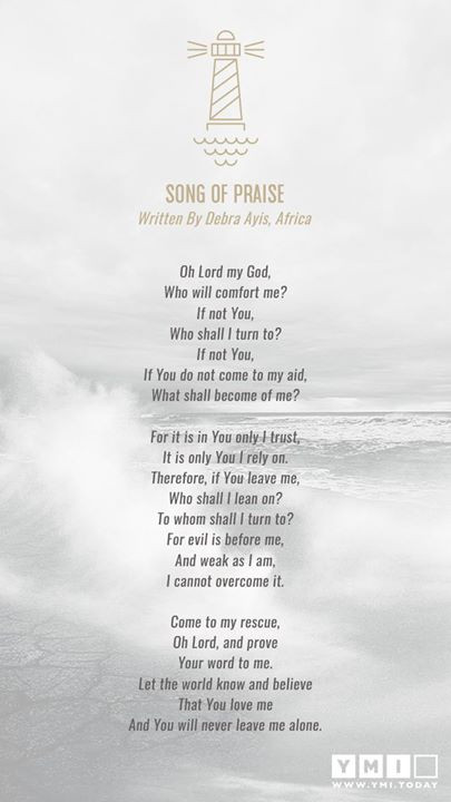 Song of Praise - Contemporary Poetry