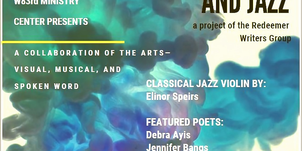 Art, Poetry and Live Jazz at W83