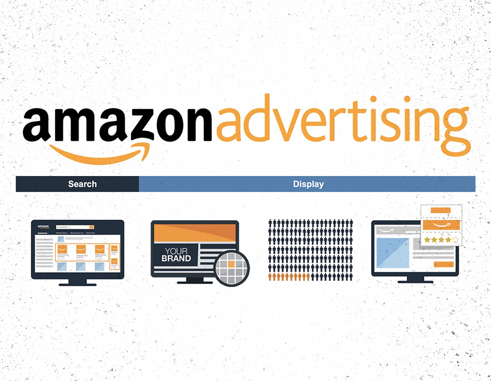 Sponsored Amazon Ads, Video Amazon Ads, Display Amazon Ads