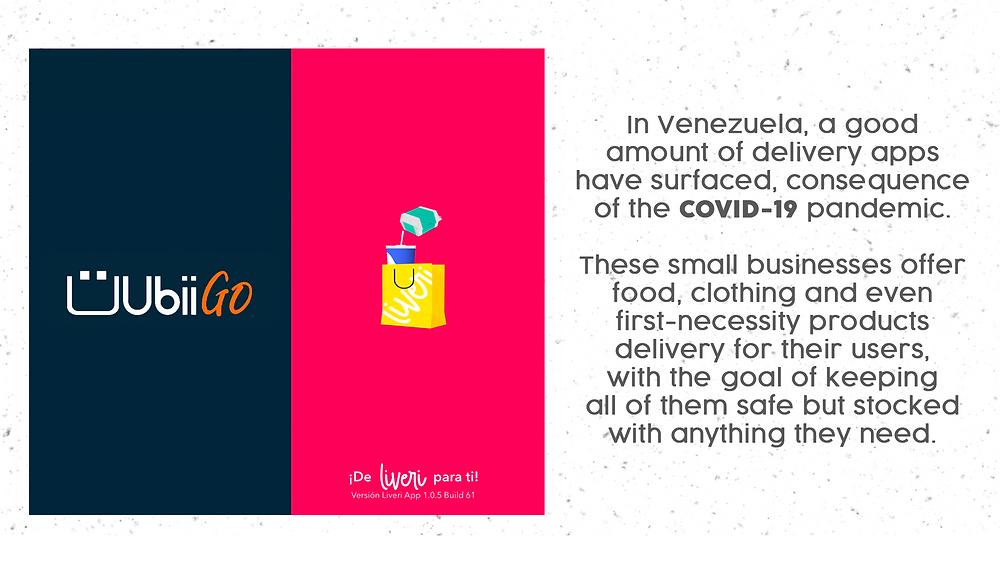Venezuelan's Apps UbiiGo, Livery