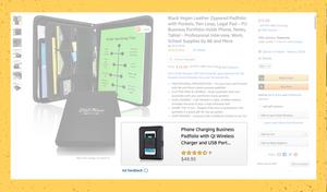 Amazon Padfolio Listing Ads