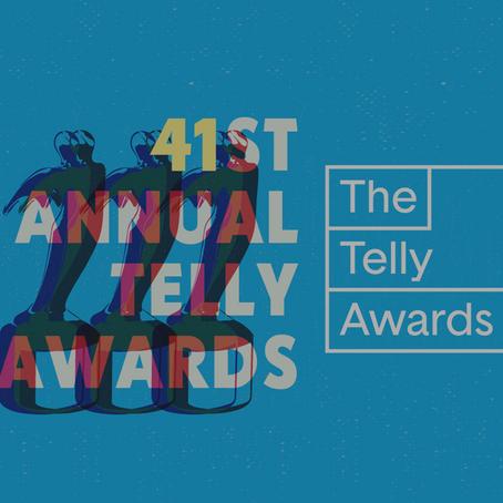 We're Telly Award Winners!