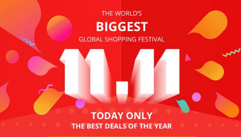 11:11 Single's Day Advertising Banner